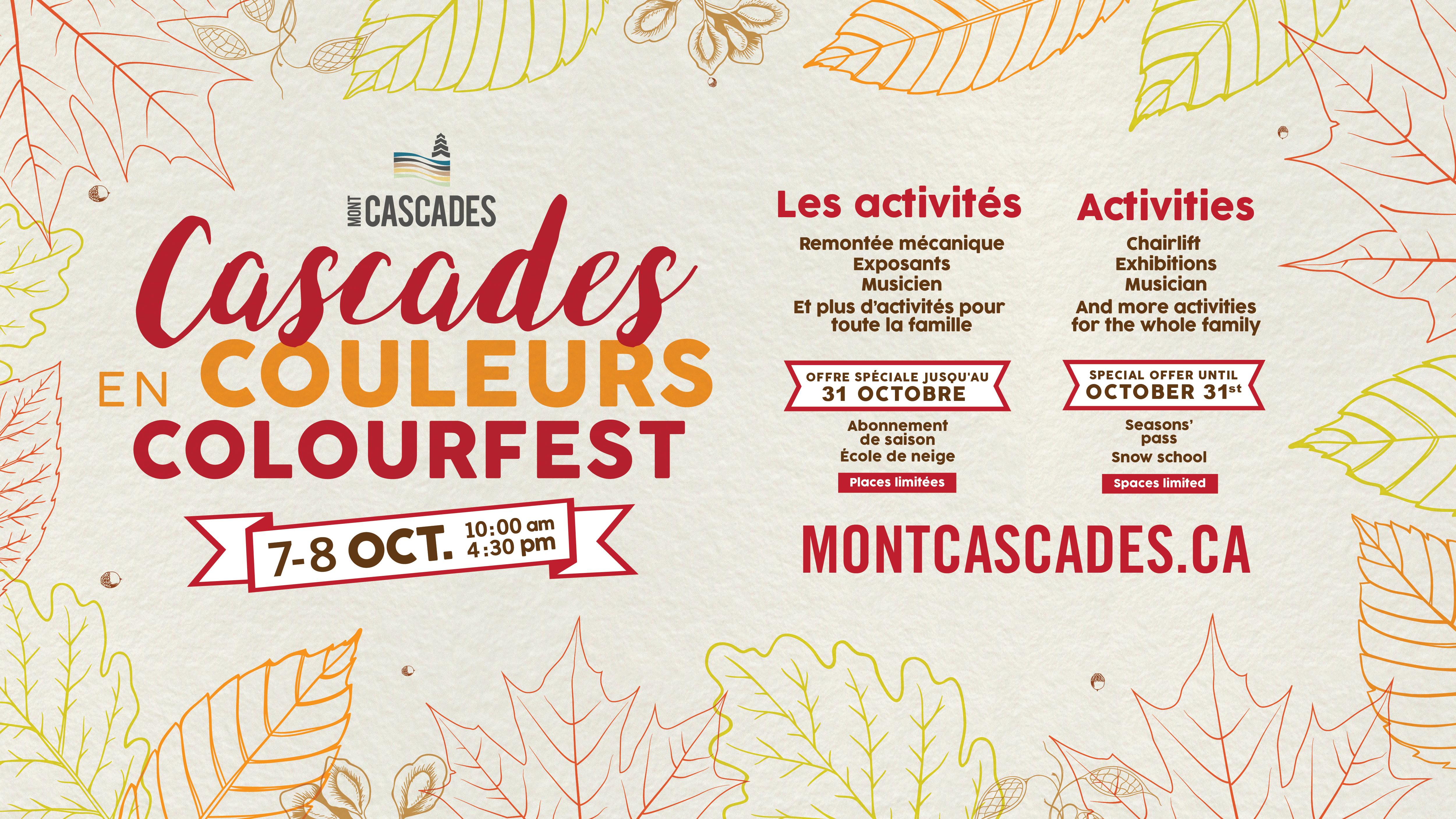 Cascades Colourfest 2017